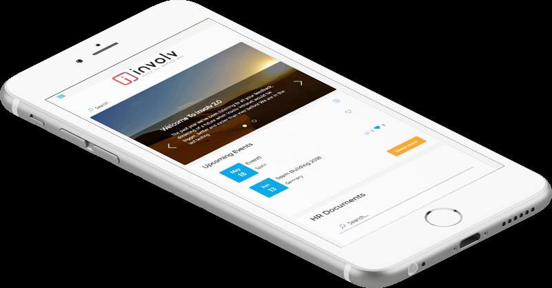 Involv mobile app